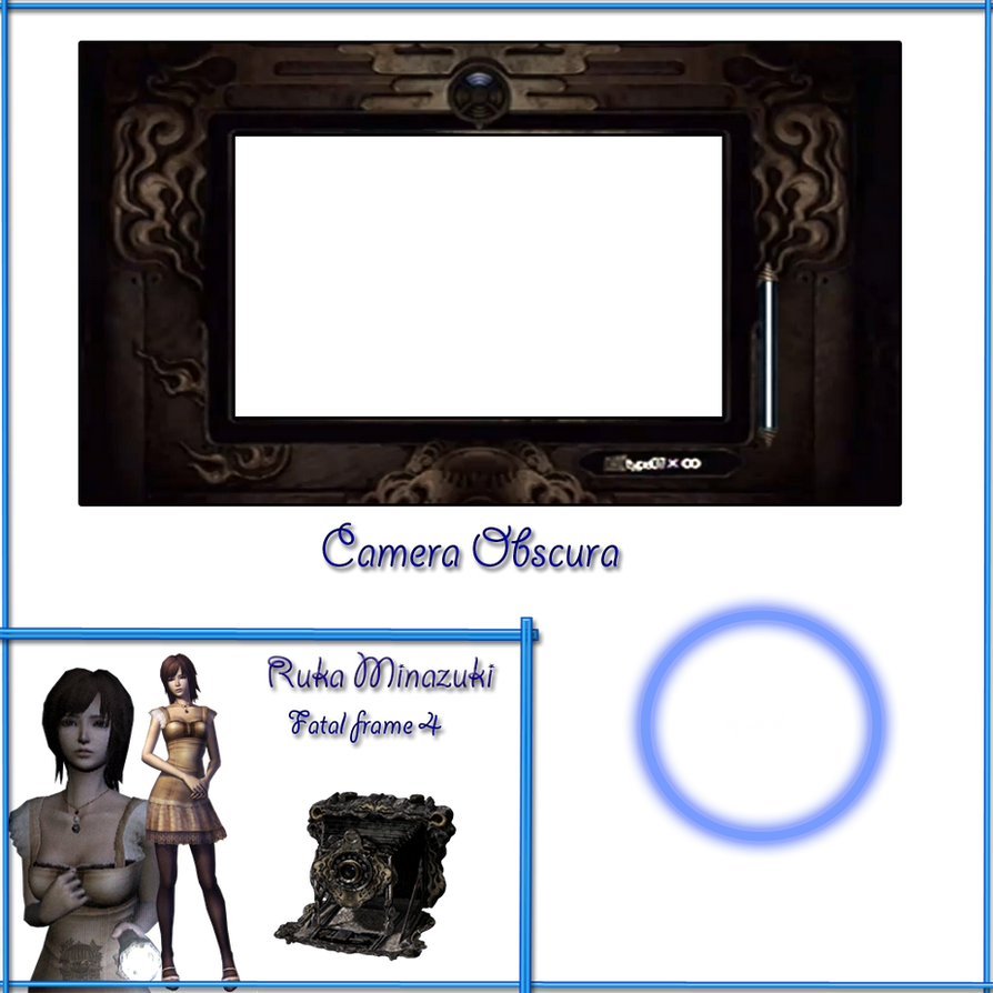 Fatal frame 4 - Ruka - Camera Obscura .:Base:. by aprict on DeviantArt