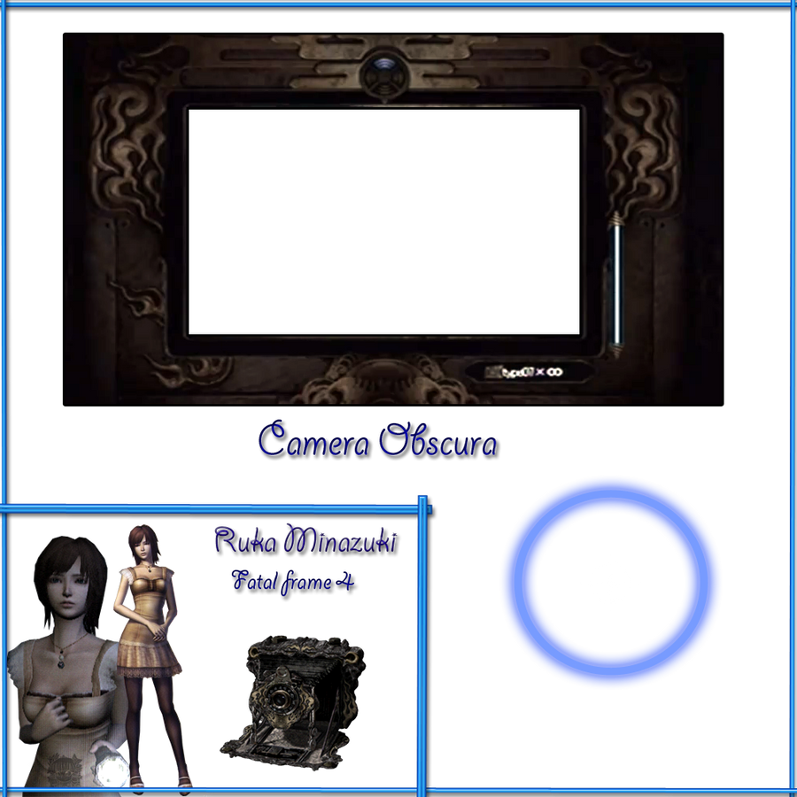 Fatal frame 4 - Ruka - Camera Obscura .:Base:. by aprict on DeviantArt