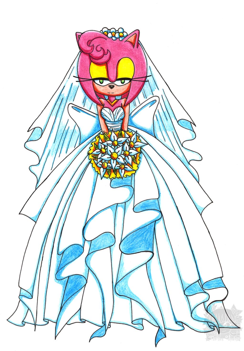 Amy Rose Wedding Dress By Aprict