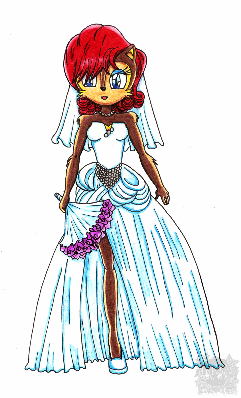 Amy Rose Sonic X Dress