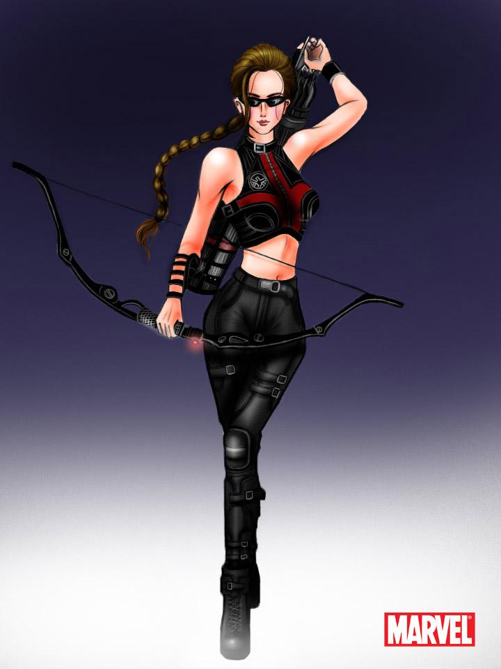 Avengers: Hawkeye Female by aerith0808