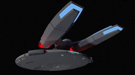 Star Trek USS Fendle by isfj1009