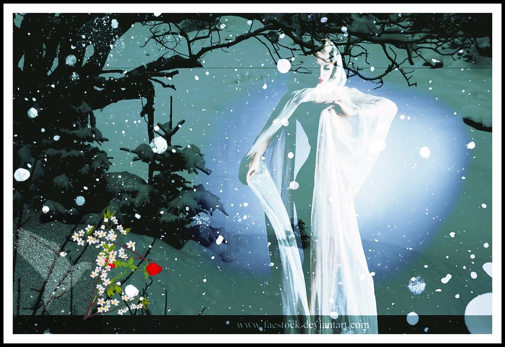 snow  queen by rocheleheart10