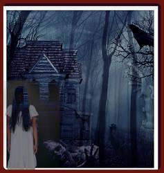 zombie  fright by rocheleheart10