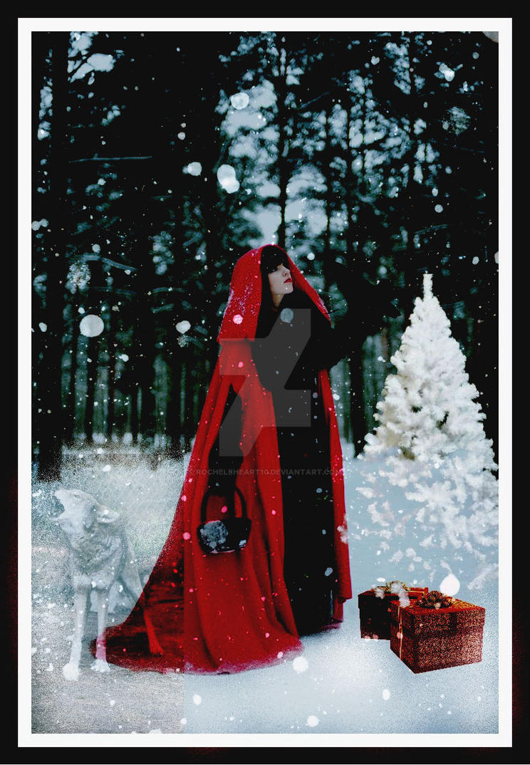 red  Rideing  Hoods  Xmas by rochele10