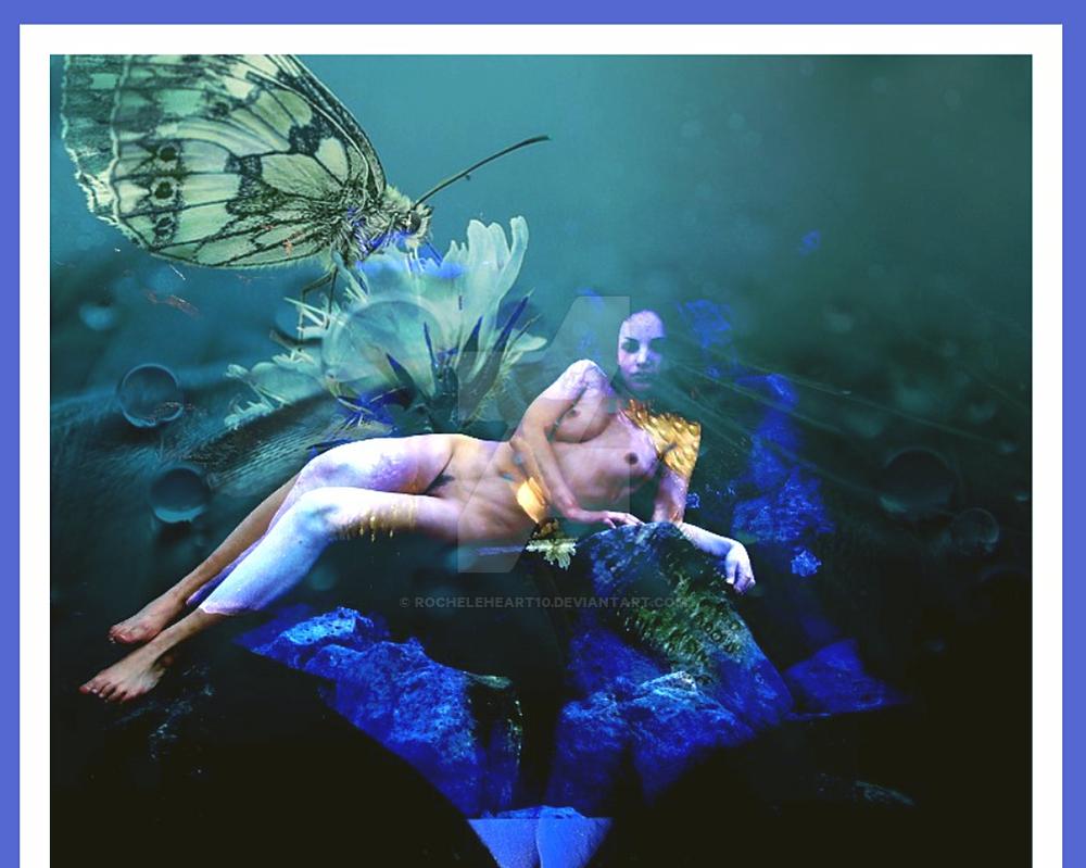under  the  water  beauty by rocheleheart10