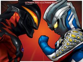 ULTRA ZERO vs ULTRA BELIAL by TOKITOS