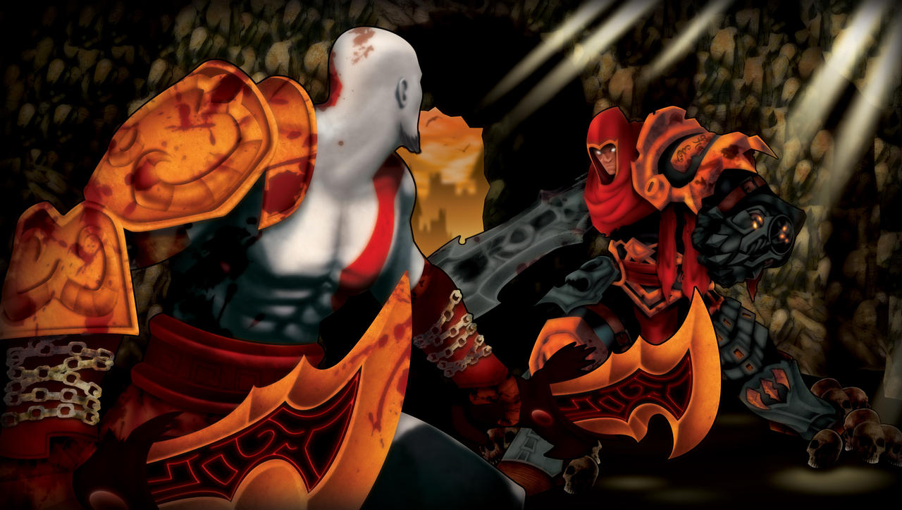 Darksiders vs God of War by TOKITOS