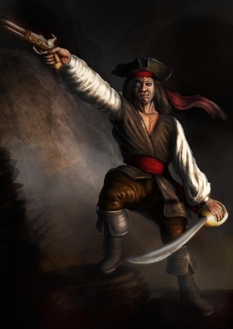 Pirate Speed Painting by LucidDesignFX