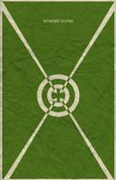 Green Arrow Minimal by waitedesigns