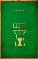 Green Lantern Minimal by waitedesigns