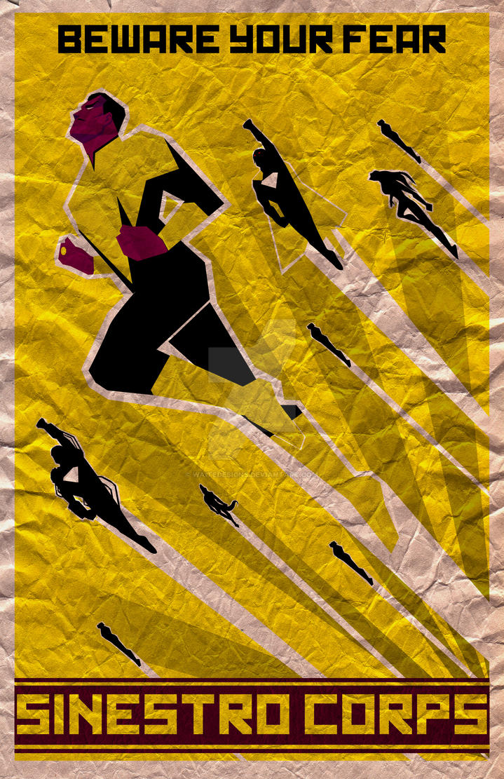 Sinestro construct by waitedesigns