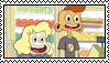 (SU) Sadie and Lars Stamp (Unanimated) by Dulcepanque