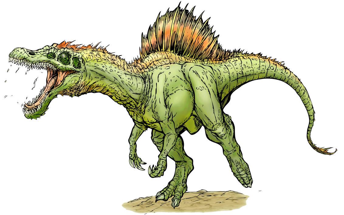 Irritator dinosaur coloring pages
