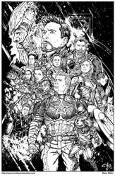 Avengers Endgame by stvnhthr