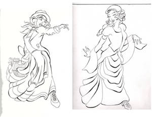 My Fair Lady character design