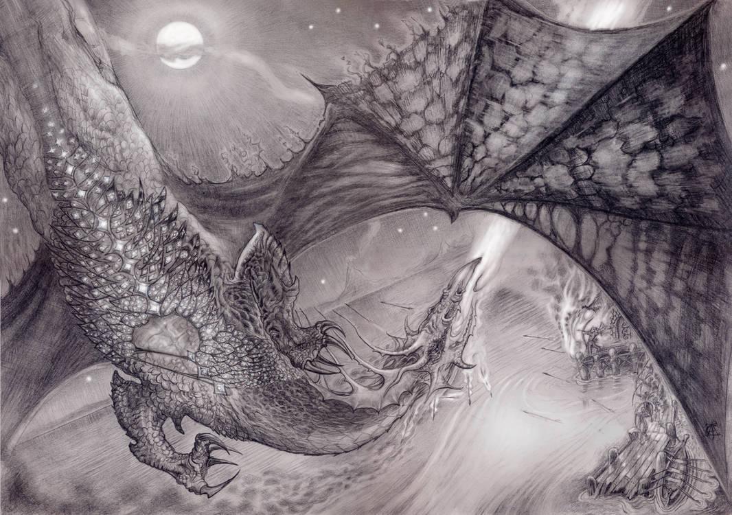 The Dragon`s Waistcoat by greensap