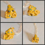 Blue-ringed Octopus Necklace Commission