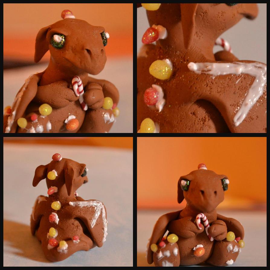Gingerbread Dragon by GoldenDaffadowndilly