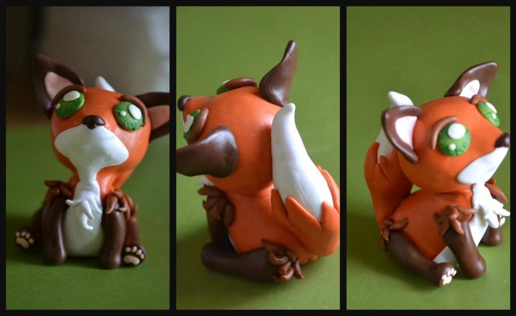 Red Fox by GoldenDaffadowndilly