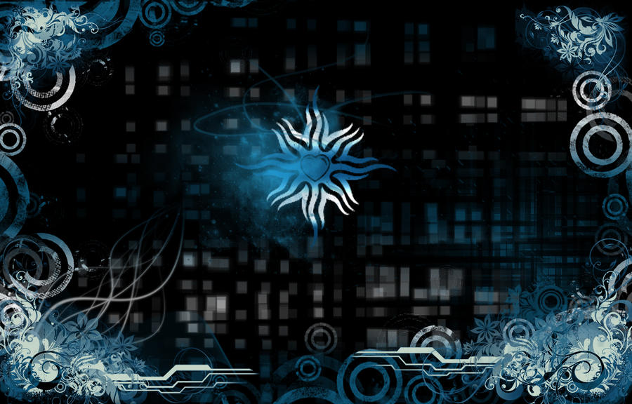 wallpaper blue heart. Blue heart Wallpaper by