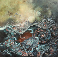 An Interpretation of Genesis by AKOrganicAbstracts
