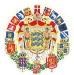 Greater coat of arms of the Scandinavian Empire