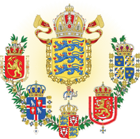 Middle Coat of Arms of the Scandinavian Empire by Regicollis