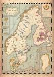 Map of the Scandinavian Empire