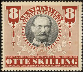 Scandinavian postage stamp by Regicollis