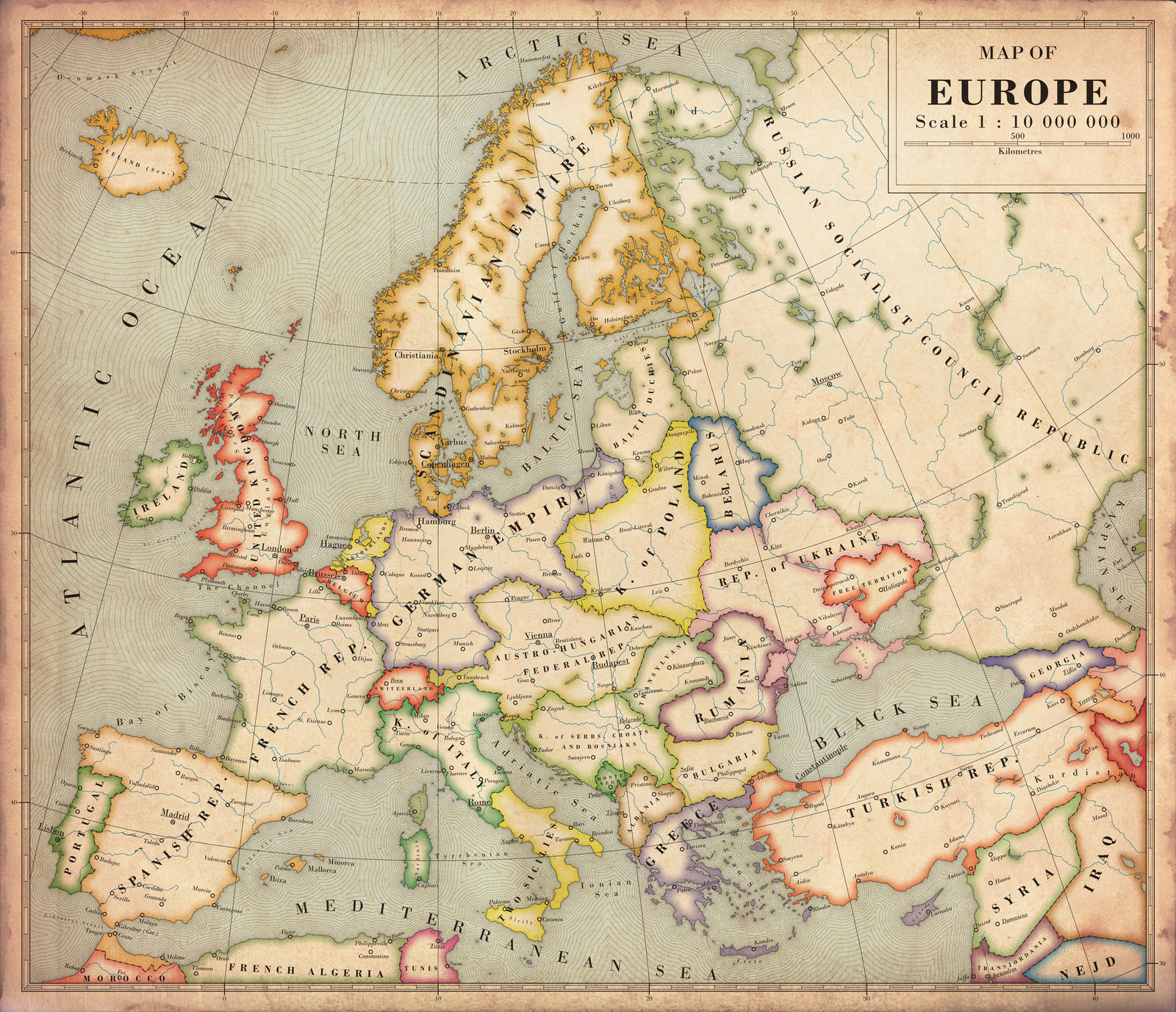 Historical Maps Of Europe  Thefreebiedepot