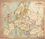 Alternate History Map of Europe v2
