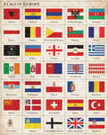 Flags of Europe ca. 1920