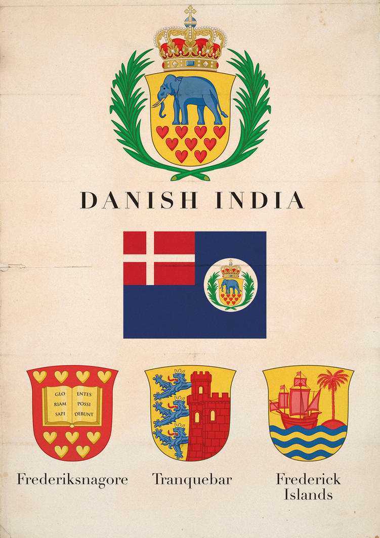 Danish India - Fictional symbols by Regicollis