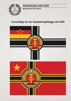 East German War Ensigns by Regicollis