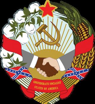 The Confederate Socialist States of America by Regicollis