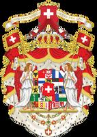 Kingdom of Switzerland - Coat of arms by Regicollis