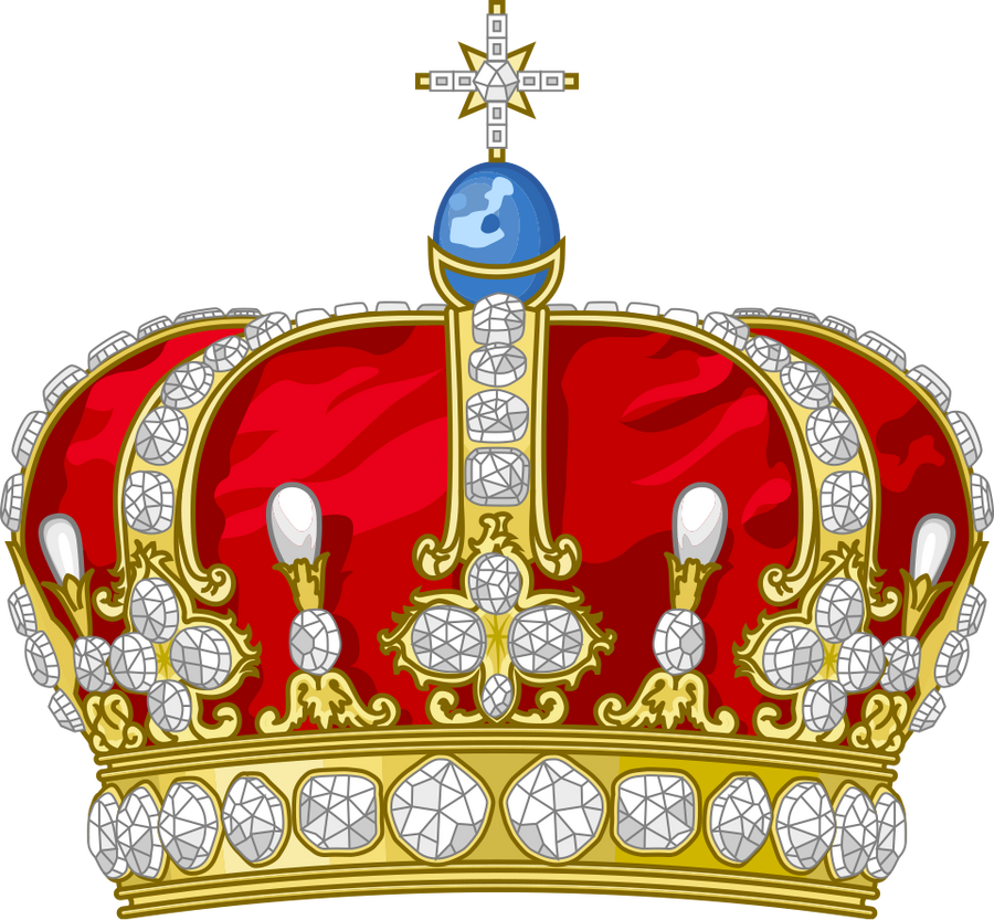 Gold Crown For Cake How To Make