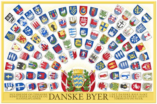 Coats of Arms of the Cities and Towns of Denmark