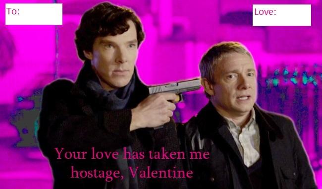 Sherlock Valentineu0027s Card 3 By Wakingup Screaming ...