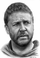 Russell Crowe by SosiNonoo