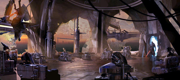 Inside the Jedi Temple 5BBY by yavinfour