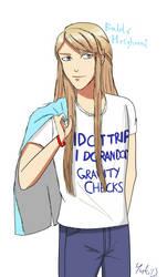 I Don't Trip I Do Random Gravity Checks by Yuki--musume