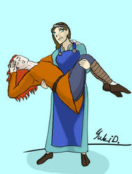 The Burden Of Sigyn's Arms by Yuki--musume