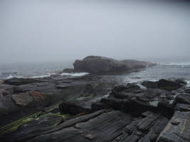Pemaquid Cliffs of Maine by NightmareShayde