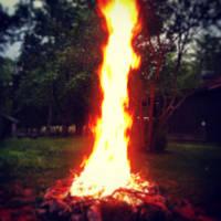 Reaching Flame by NightmareShayde