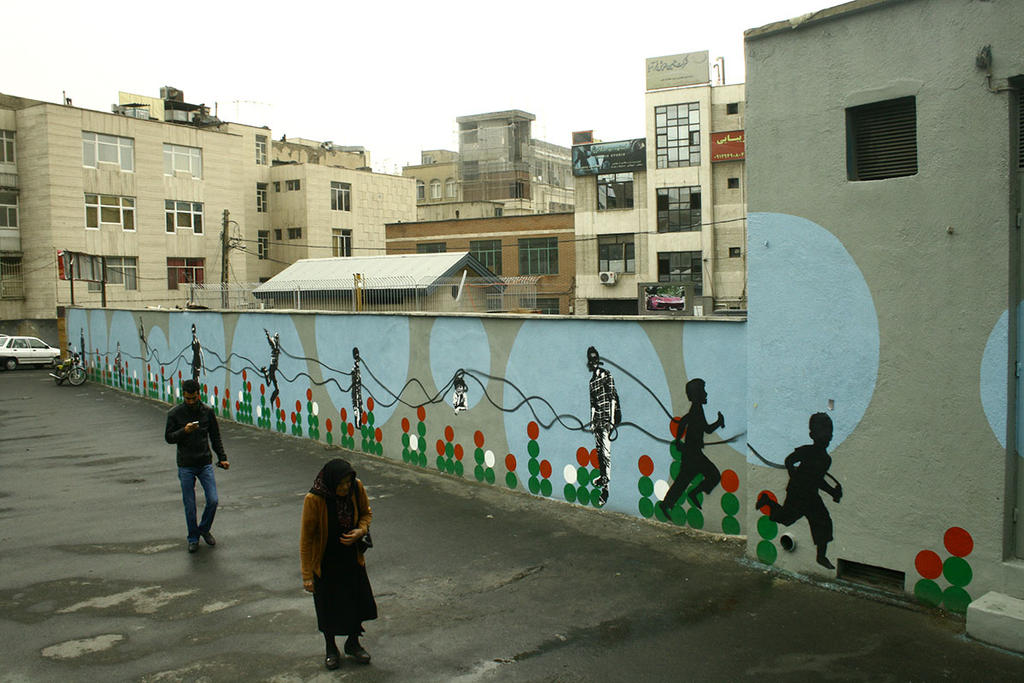 to fake streetart by iamfrz