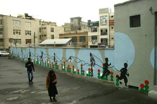 to fake streetart