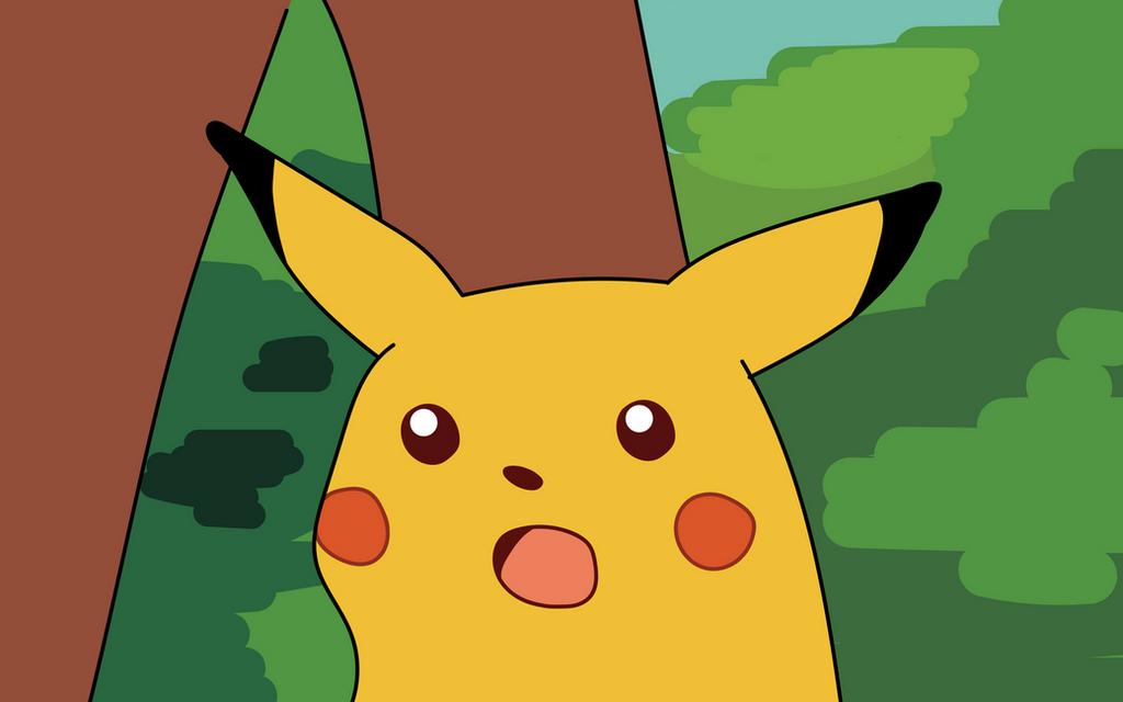 Surprised Pikachu HD wallpaper - remastered by thorofi on ...