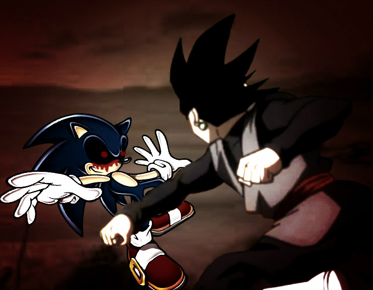 Sonic Exe VS Goku Black by yugiohplayer on DeviantArt
